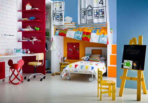 Colores para dormitorios de ni os dormitorios con estilo - Habitaciones de ninos pintadas ...