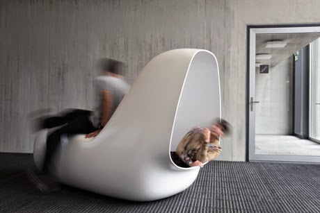 Sleepbox future and stylish contemporary furniture by HI-MACS