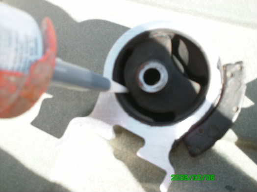 Diy polyurethane filler in the motor mounts toyota for How to make polyurethane motor mounts