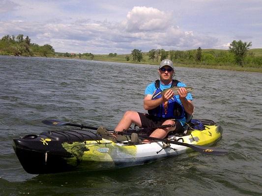 Nikki rekman sales jackson kayak coosa bow river kayak for River fishing kayak