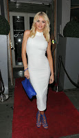 Chloe Sims hot in tight white dress