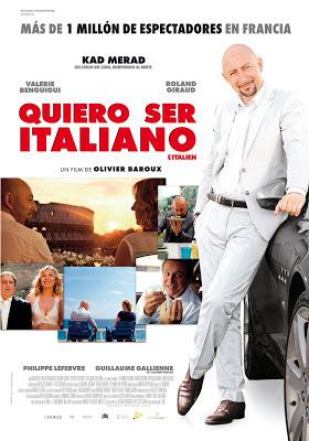 Cartel de la película quiero ser Italiano