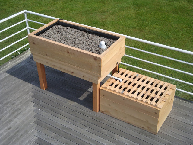 A life aquaponic first custom contracted aquaponic system for Aquaponics systems for sale