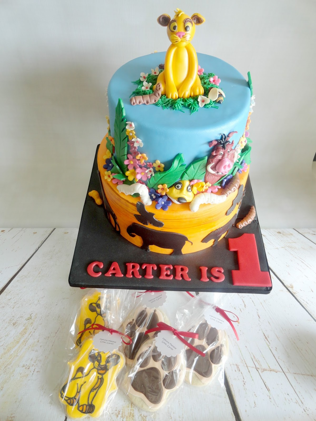 All Details Are Handmade In Sugar