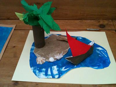 Nounous taties et cie le blog bricolage de vacances for Fabriquer un palmier artificiel