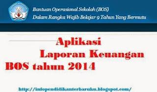 Aplikasi Laporan Keuangan BOS 2014