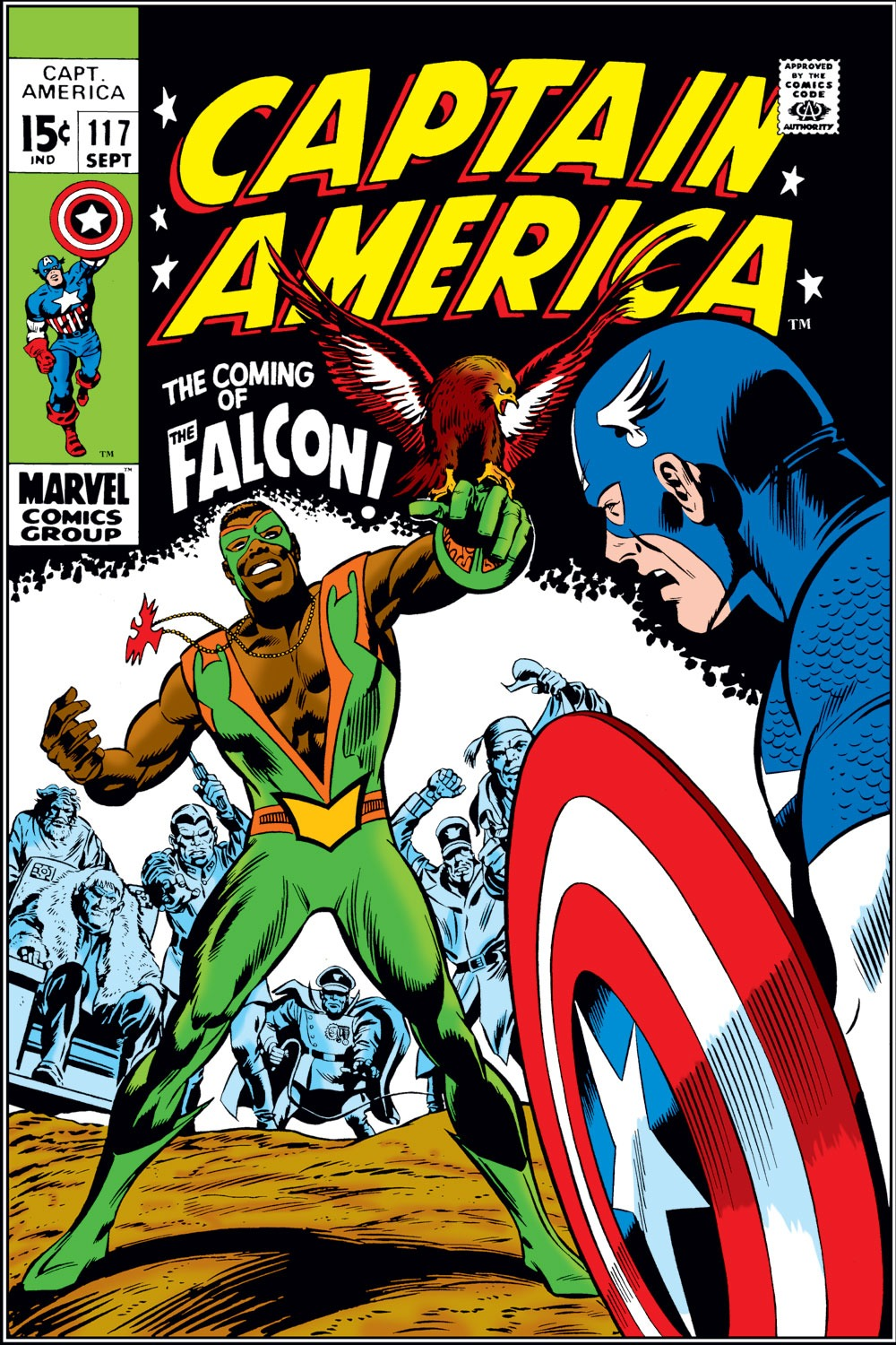 Captain America (1968) Issue #117 #31 - English 1
