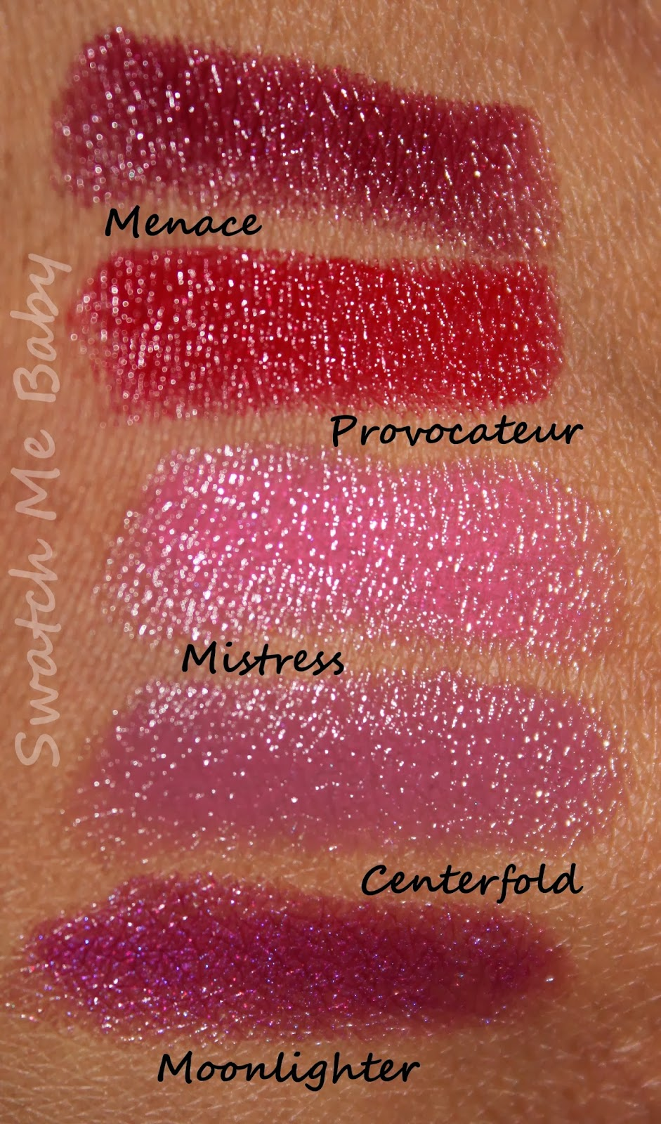 buxom serial kisser lipstick set swatches dark skin