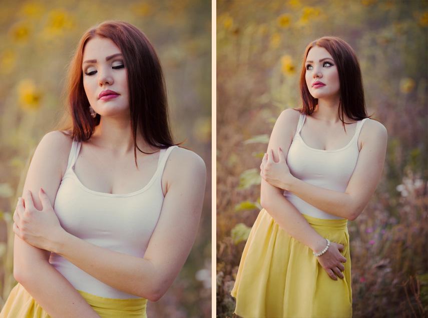 Anastasia im Sonnenblumenfeld 3