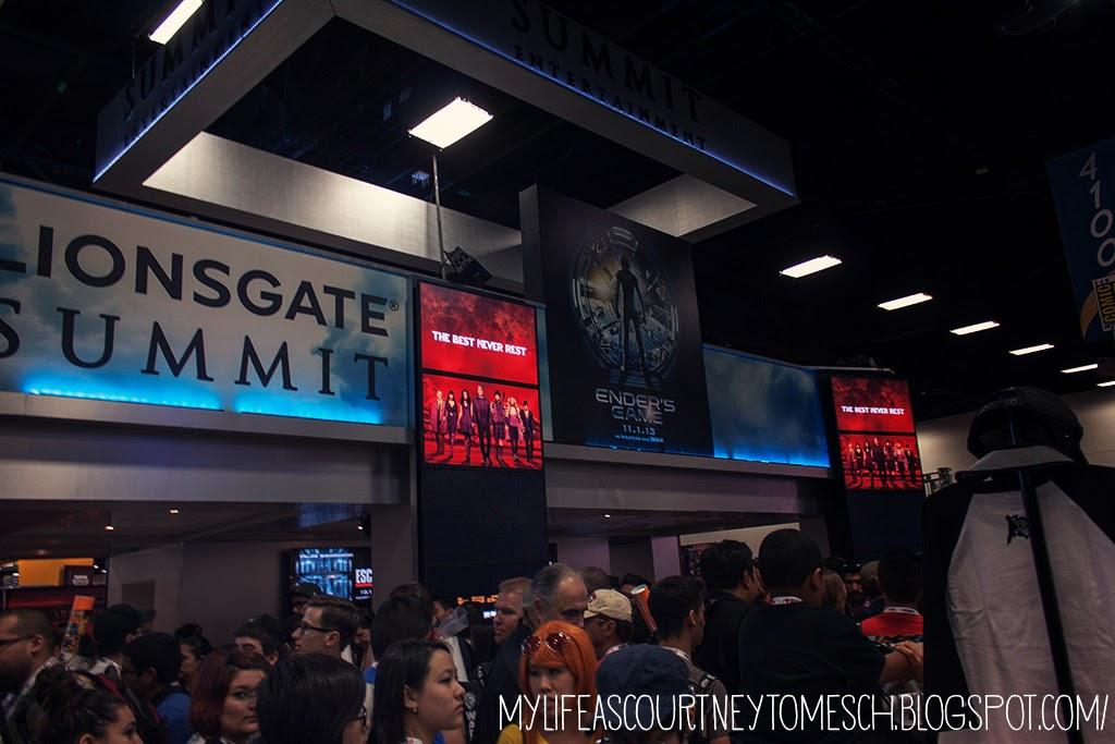 San Diego Comic Con 2013 Lionsgate Summit