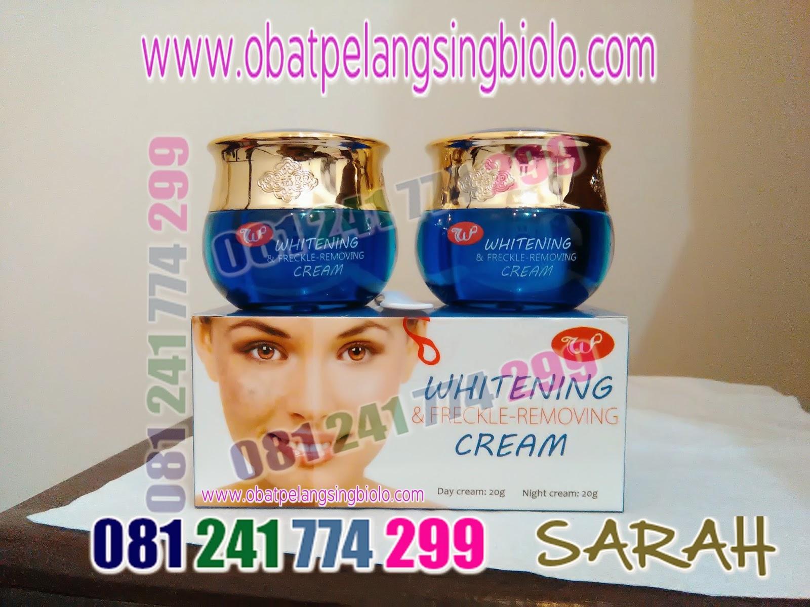 Produk Terbaru Woo Tekh Whitening Freckle Cream