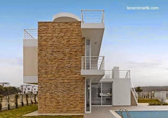 Casa de un complejo de dúplex contemporáneos en Turquía