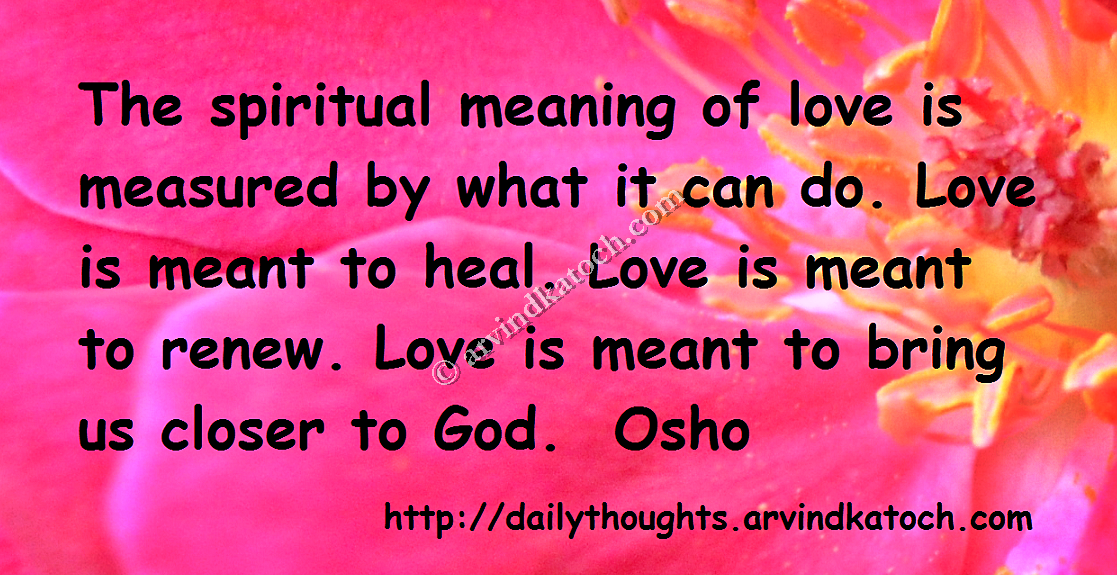 love thought in hindi the spiritual meaning of love