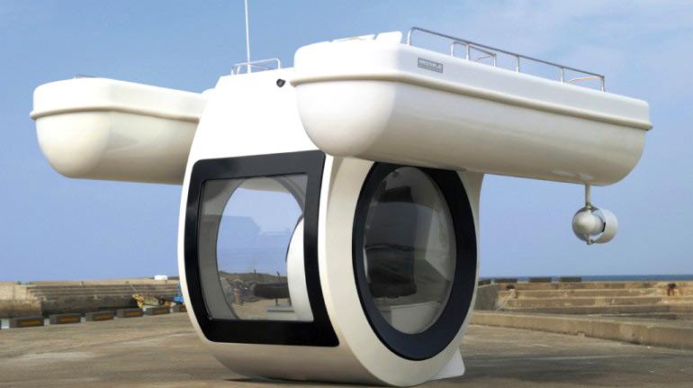 EGO submarine boat