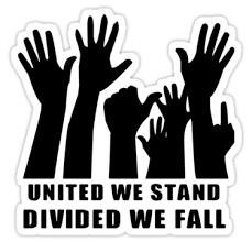 United we stand divided we fall image