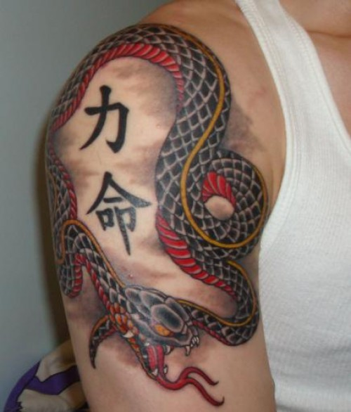 TEXAS New Snake Tattoos Designs 2012