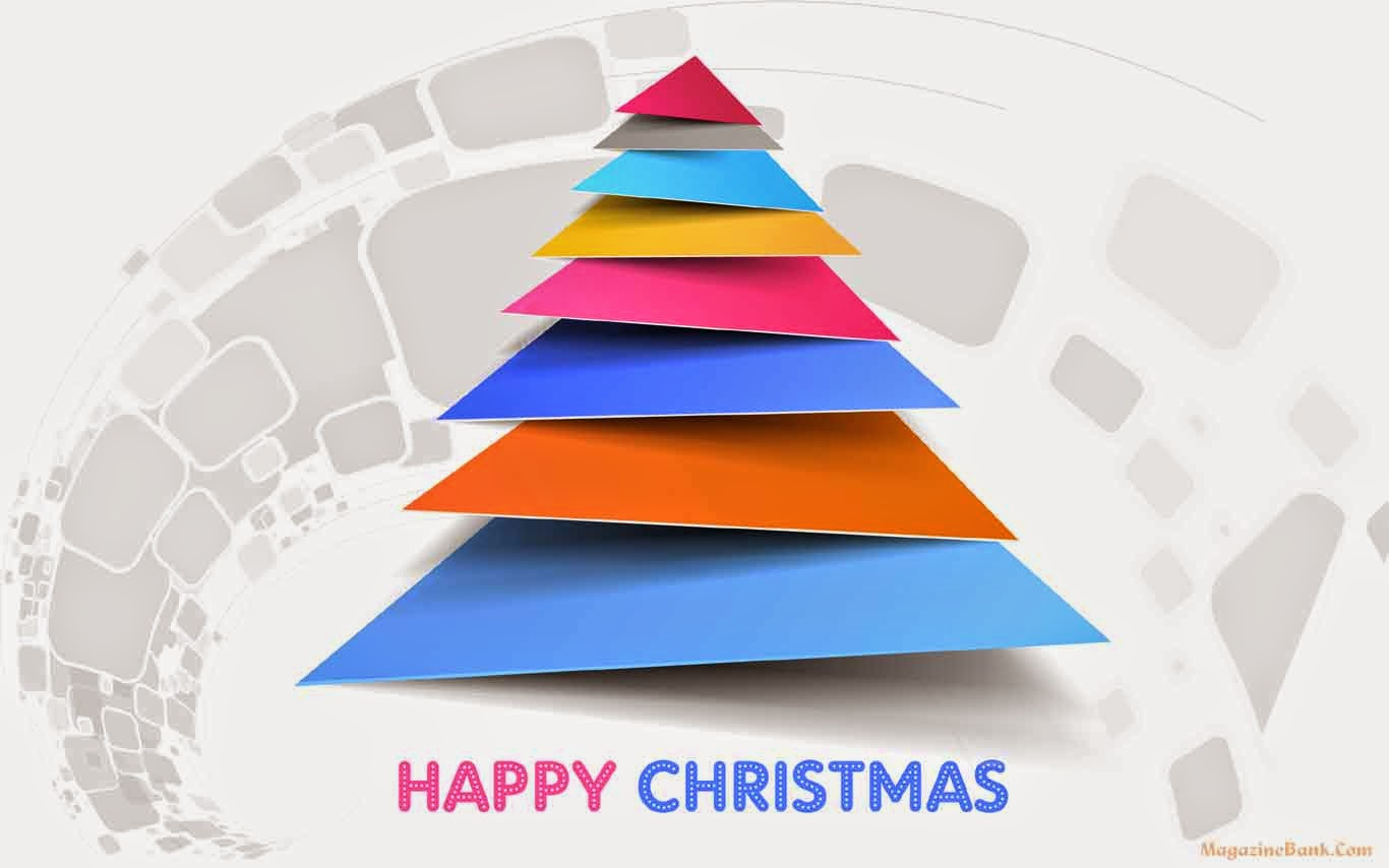 Happy Merry Christmas and Happy New Year Wishes Wallpapers 2014