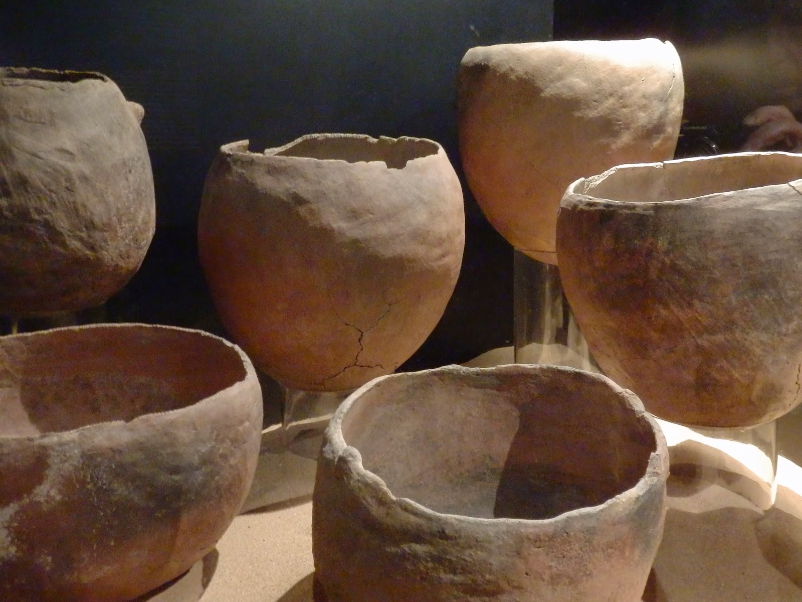 Gaunches ancient pots in Canary Islands