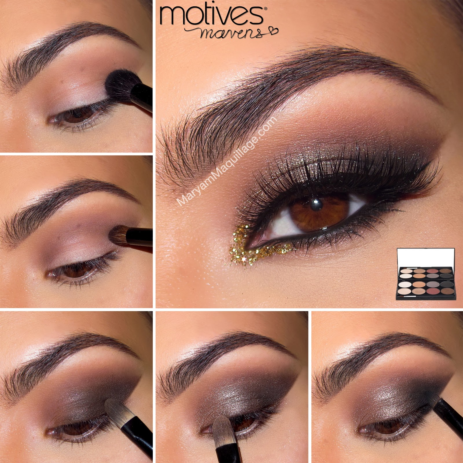 Smokey Eye Makeup Tutorial For Brown Eyes Llll