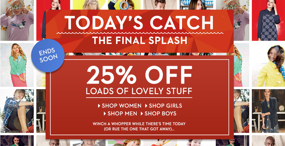 Catch of the day australia discount coupons