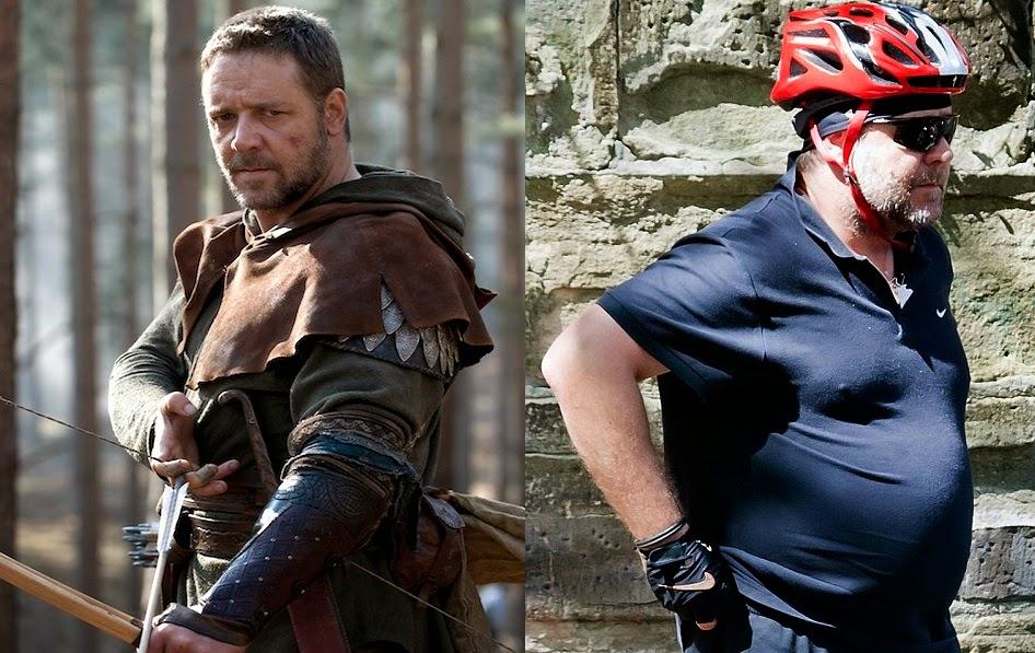 Antes e depois dos famosos que engordaram