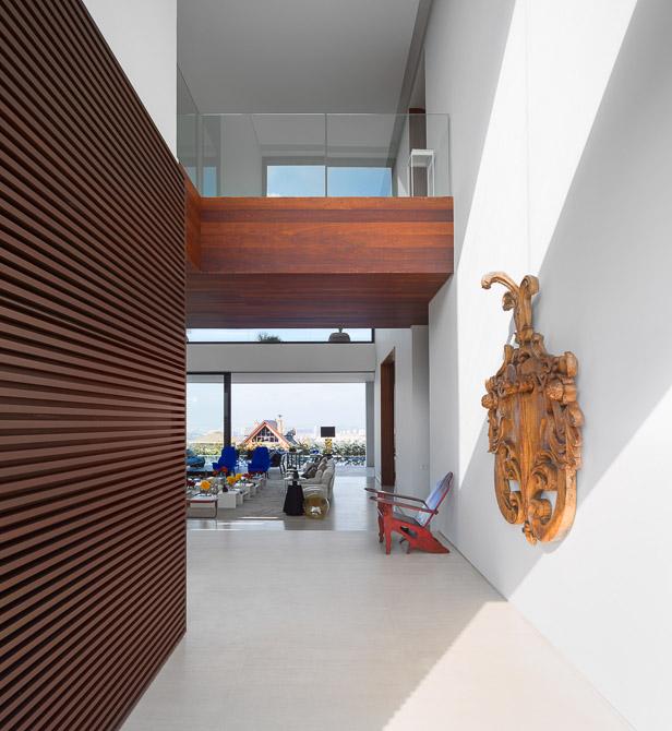Interior of Modern Jaragua Residence