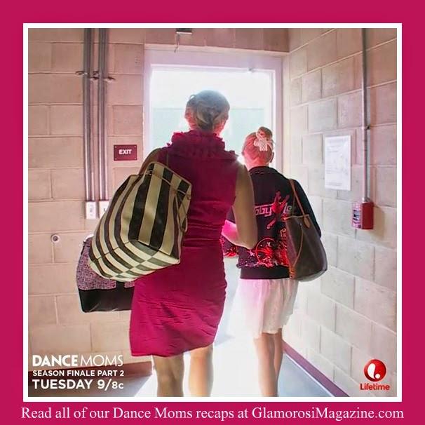 Christi Lukasiak and daughter Chloe leave the ALDC on Dance Moms season 4 finale