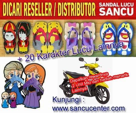banner sandal sancu