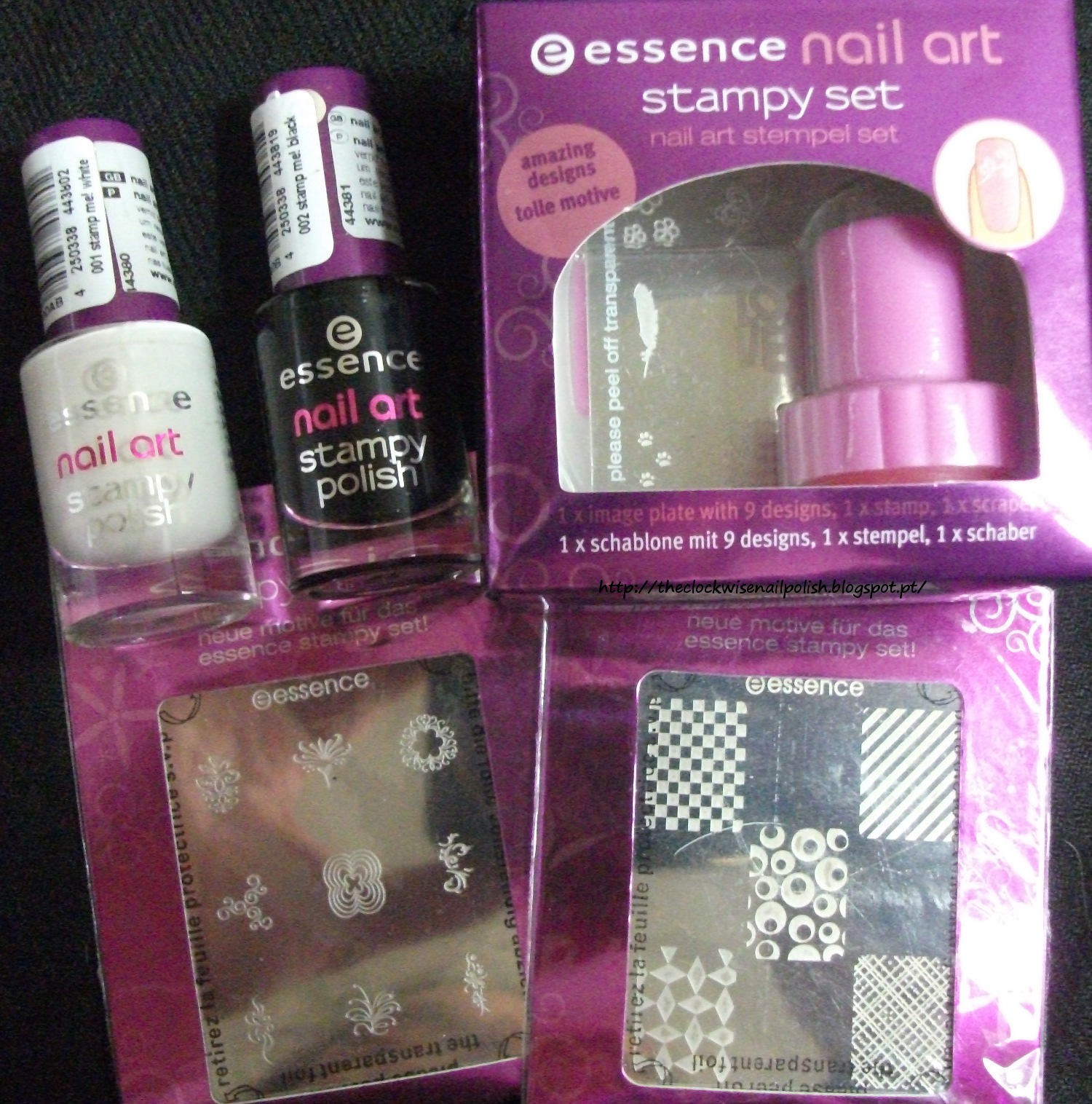 Essence Gel Nail Polish Space Queen: The Clockwise Nail Polish: 250th Blog Followers Giveaway