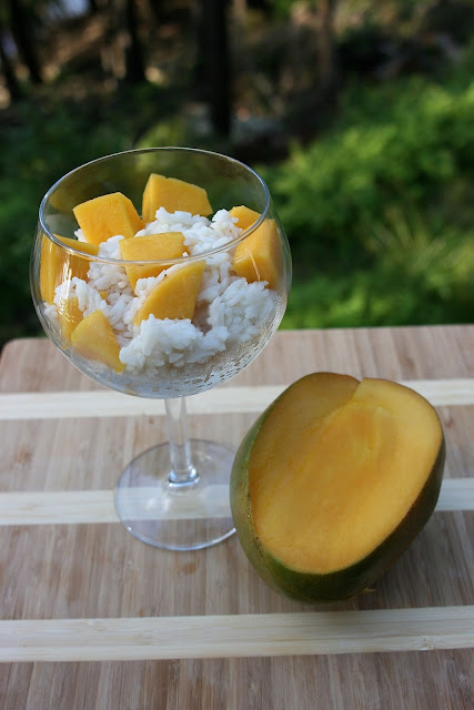 Mango with Coconut Rice: Simple Living and Eating