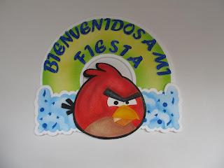 FIESTAS ANGRY BIRDS MEDELLIN