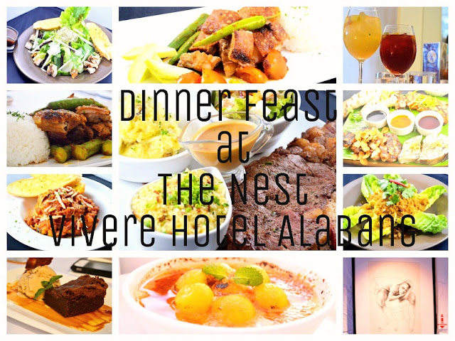 Dinner Feast at The Nest - Vivere Hotel Alabang