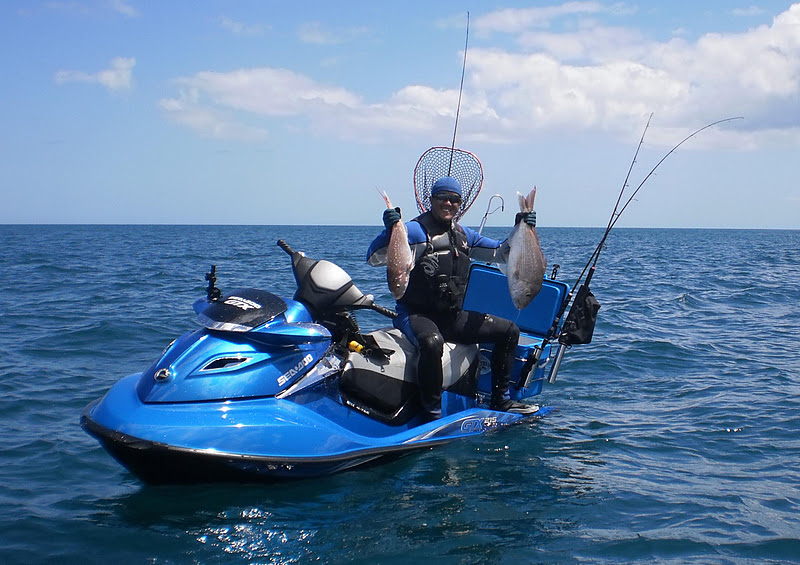 Jet ski fishing blog report 073 top catch king of for Best jet ski for fishing
