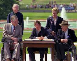 Celebrate The Americans with Disabilities Act of 1990 (ADA) anniversary on July 26, 1990