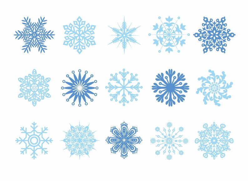 Gambar Butiran Salju