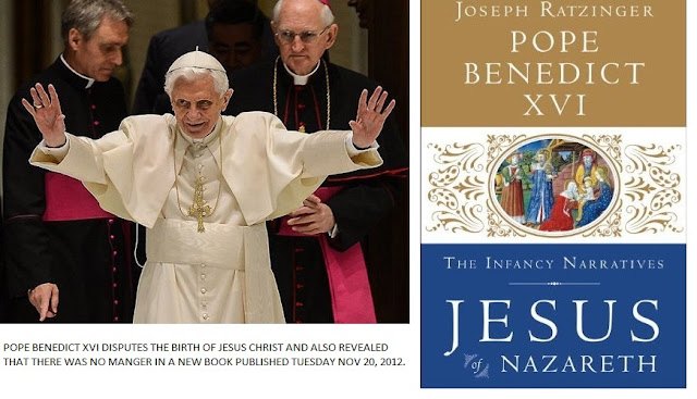 Pope Benedict XVI Pope John Paul II Book disputes Jesus birth,