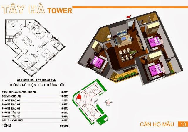 Chung Cư Tây Hà Tower, chung cu tay ha tower, 18