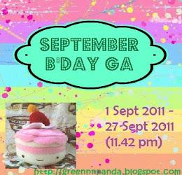 September B'day GA