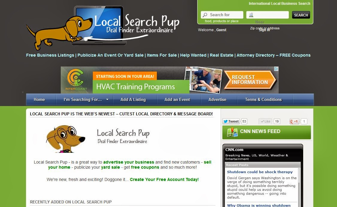 Having a Yard Sale? Have Event Tickets You Want to Sell? List them for FREE on LOCALSEARCH PUP!