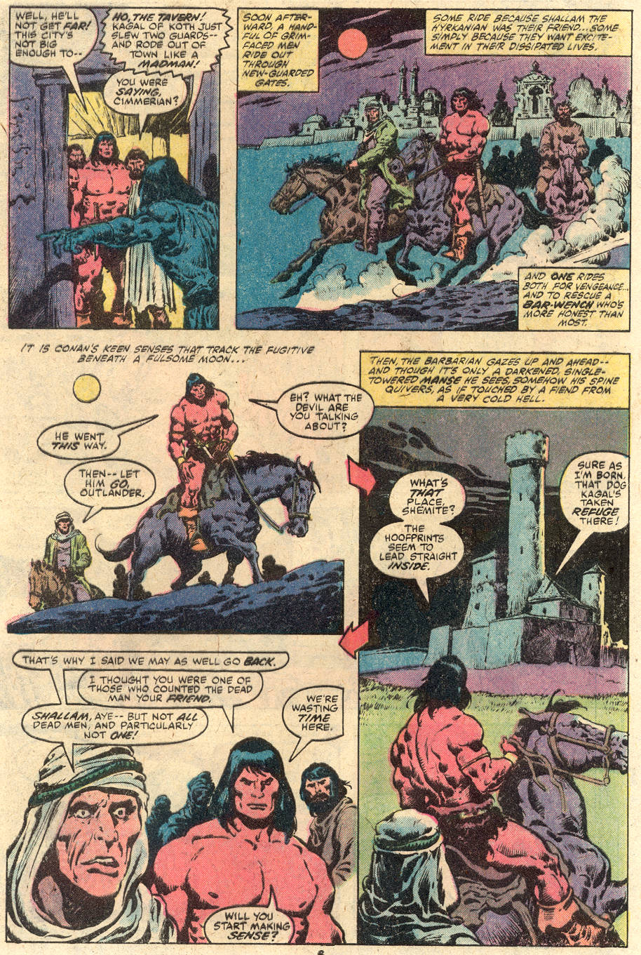Conan the Barbarian (1970) Issue #114 #126 - English 6