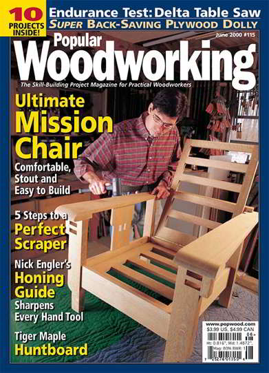 Popular Woodworking Magazine Issue 115 June 2000