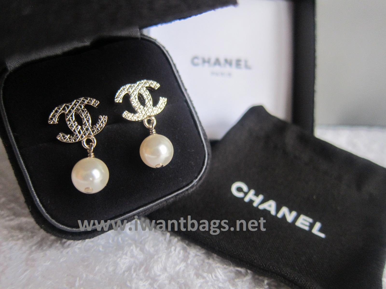 Chanel earrings in macys ny