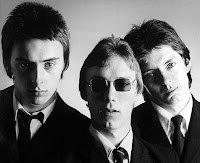 Promotional picture of The Jam from 1977