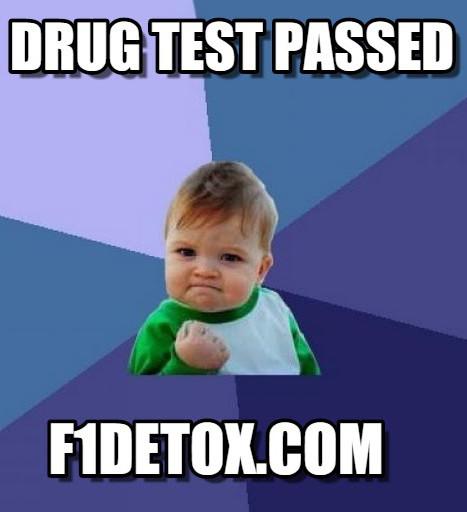 Pass your drug test with F1detox.com