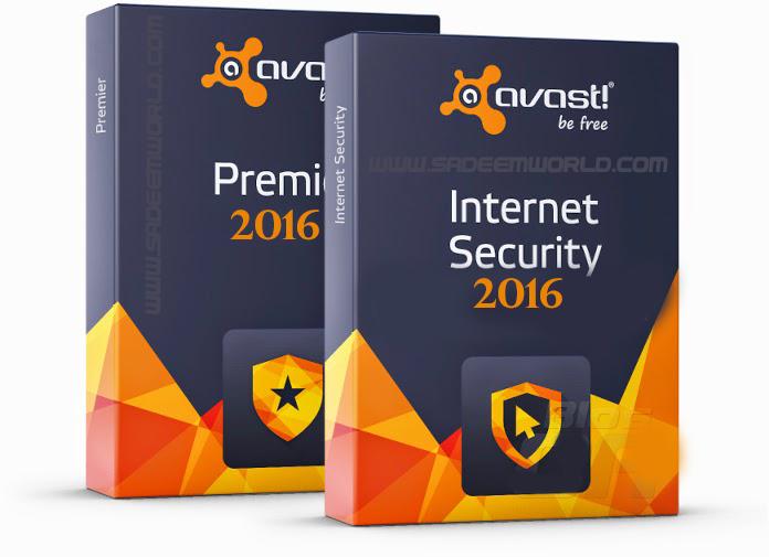 Avast! Pro Antivirus + Internet Security + Premier 2016 11 1 2241