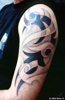 Black Tribal Tattoos Designs