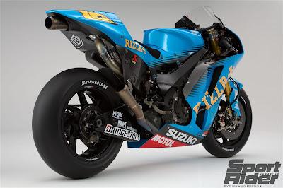 Suzuki MotoGP Rizla wallpaper