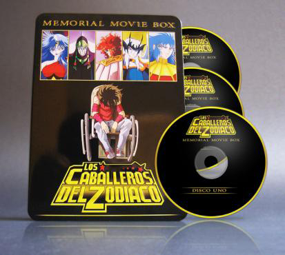 Saint Seiya -Movie Box- Pelis DvdFull