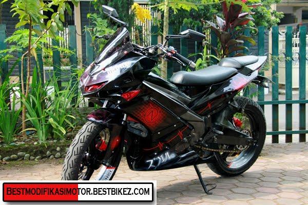 Motor Mx Dengan Pelek Dbs Spesifikasi Modifikasi Yamaha Jupiter MX