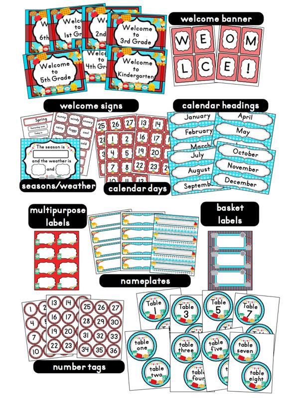 Classroom Ideas Printables ~ Cooking baking themed classroom ideas photos tips